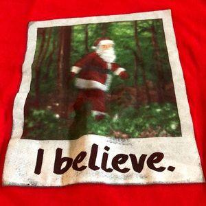 Santa I believe Christmas shirt